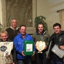 Prize winners From left Gerhard Cloete, Stephan Cloete,                         Gary Godley, Tom Dittmier & Darryl Godley